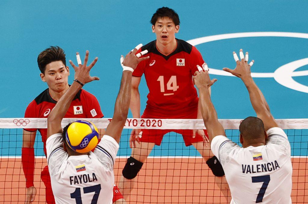 Volleyball – Men's Pool A – Japan v Venezuela