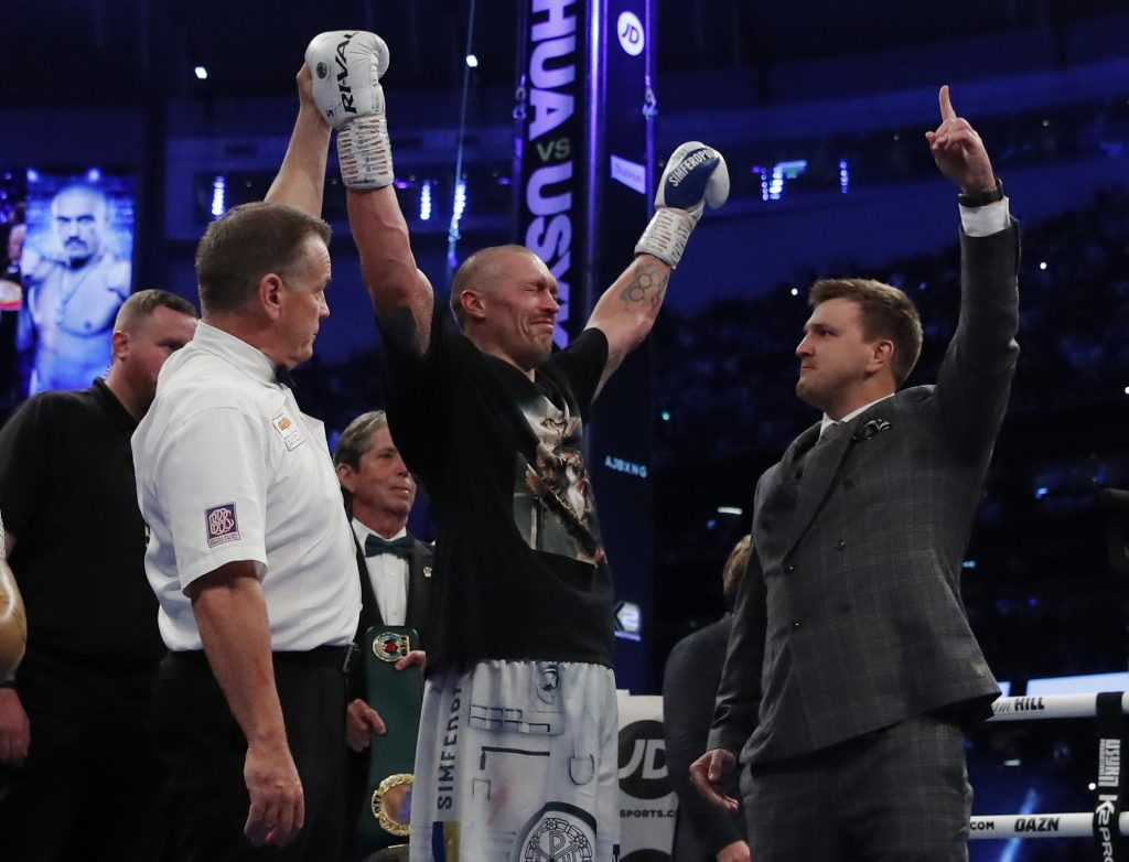 WBA, IBF & WBO Heavyweight Titles – Anthony Joshua v Oleksandr Usyk