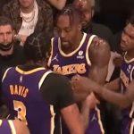 Меѓусебна тепачка во тимот на ЛА Лејкерс (Видео)