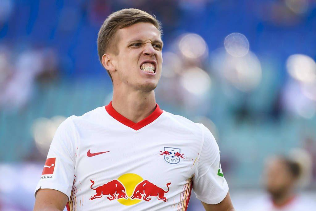 20.09.2020, xkvx, Fussball 1.Bundesliga, RB Leipzig – FSV Mainz 05 emspor, v.l. Dani Olmo (RB Leipzig) (DFL/DFB REGULAT
